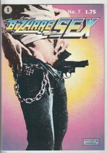 Bizarre Sex #7 (Nov-83) NM Super-High-Grade