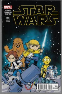 Star Wars #1 (Marvel, 2013) Skottie Young Baby Variant