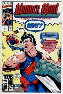 WONDER MAN #3, NM+, Terry Austin, 1991, Los Angeles, more in store