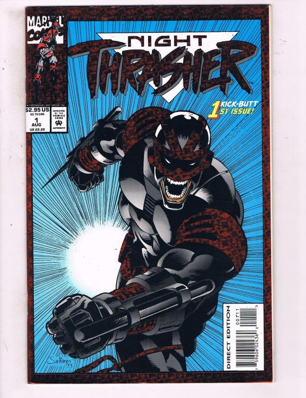Night Thrasher #1 VF Marvel Comics Comic Book August 1993 DE16