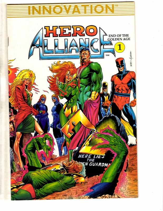 Hero Alliance #5 VF 1990 Stock Image