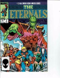 Lot Of 2 Comic Books Marvel Eternals #2 and #5 Thor Ironman   ON8