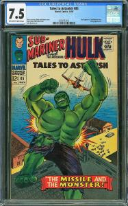 Tales to Astonish #85 (Marvel, 1966) CGC 7.5
