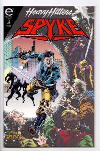 Heavy Hitters Spyke #1 (Marvel, 1993) VF/NM