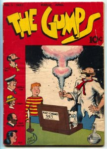 Gumps #1 1947-Gus Edson art--Golden Age comic VG-