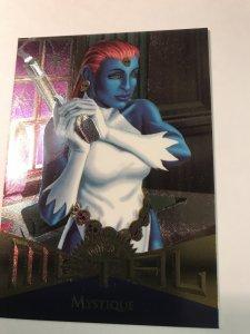 MYSTIQUE #107 card : Marvel Metal 1995 Fleer Chromium; NM/M X-men, base