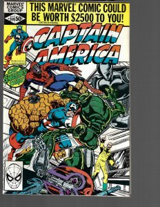 Captain America #249 (Marvel, 1980) NM-