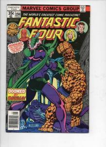 FANTASTIC FOUR #194, VF/NM, Death Demon, Diablo, 1961 1978, Marvel