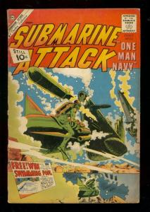 SUBMARINE ATTACK #29 1961-CHARLTON WAR COMICS G