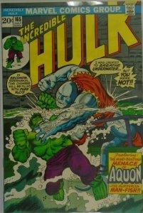 The Incredible Hulk #165 - 6.0 FN - 1973