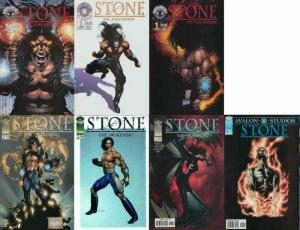 STONE (1998 AVALON) 1(all 3),2(both),3-4  COMPLETE+++