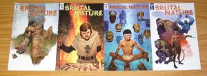 Brutal Nature #1-4 VF/NM complete series - ariel olivetti - idw comics set 2 3