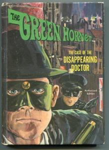 GREEN HORNET-CASE OF THE DISAPPEARING DOCTOR-HC-WHITMAN-TV-WILLIAMS/LEE-VG