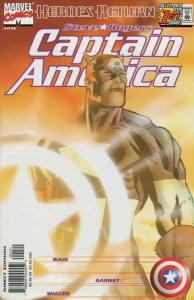 Captain America (3rd Series) #1A VF/NM; Marvel | save on shipping - details insi