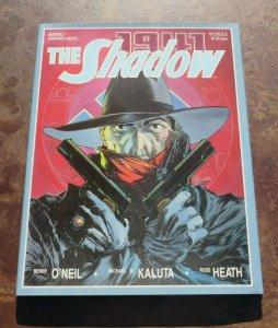 1941 The Shadow Marvel Graphic Novel Hardcover Book NM+ 1st Print Hitler Nazis