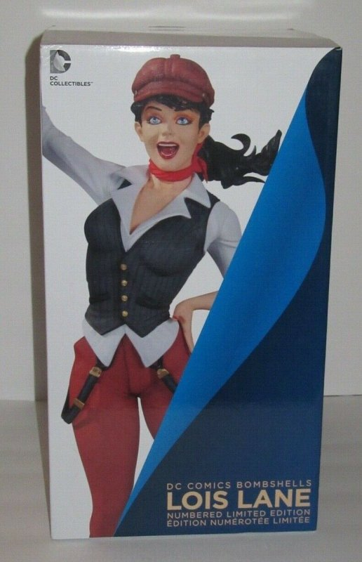 DC Bombshells LOIS LANE Ltd Ed 1529/5200 Ant Lucia DC Collectibles Statue