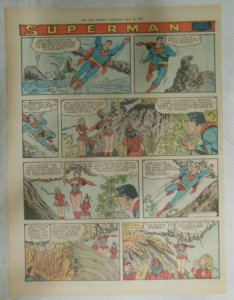 bvSuperman Sunday Page #1029 by Wayne Boring from 7/19/1959 Tabloid Page Size
