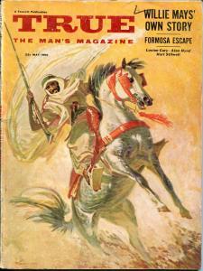 True 5/1955 Fawcett-Willie Mays-P