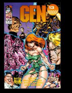 12 Comics Gen 13 # 1 5 4 5 2 3 14 Bootleg 1 10 /The Maxx 1 Gall Force +MORE JF19