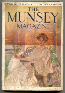 The Munsey Pulp July 1907- Wheel of Fortune VG