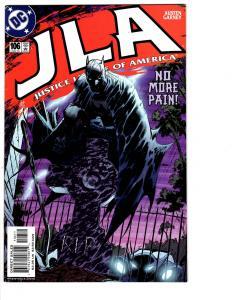 5 JLA DC Comic Books # 106 107 108 109 110 Batman Superman Flash Lantern BH13