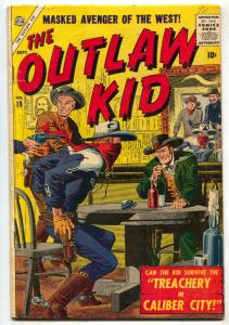 Outlaw Kid #19 1957- Severin cover- Atlas Western VG