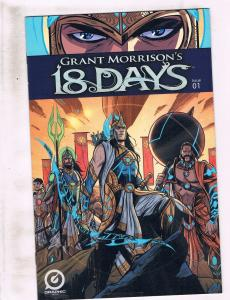 Lot Of 6 18 Days Graphic India Comic Books # 1 2 3 4 5 6 NM 1st Prints JH6