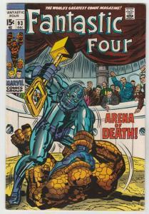 Fantastic Four #93 (Dec-69) VF+ High-Grade Fantastic Four, Mr. Fantastic (Ree...