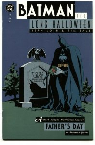 Batman The Long Halloween #9 COMIC BOOK  1996 nm-