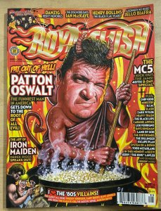 ROYAL FLUSH #5 (2008) Patton Oswalt! MC5! MSI! Ian MacKaye! Maiden! Biafra!VF-NM
