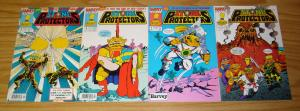 Stone Protectors #1-3 VF/NM complete series + one-shot TROLL DOLL RARE SET 2