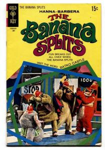 THE BANANA SPLITS #3 1970-GOLD KEY-HANNA-BARBERA-vg/fn