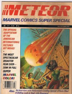 Meteor Marvel Super Special # 14 VG/FN Bronze Age Marvel Comic Books Hi-Res Scan