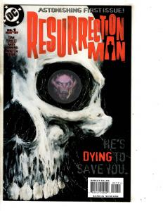 11 Resurrection Man DC Comic Books # 1 2 3 4 5 6 7 8 9 10 11 Batman Flash CR18