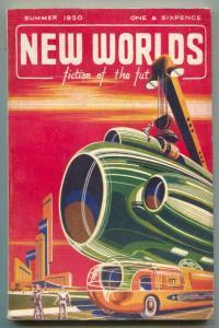 New Worlds Summer 1950- British Science Fiction Pulp