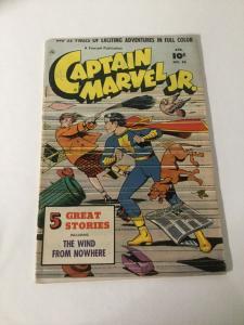 Captain Marvel Jr. 96 Fn+ Fine+ 6.5 Fawcett Publication