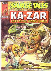 Savage Tales #6 (Sep-74) VF- High-Grade Ka-Zar
