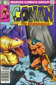 Marvel CONAN THE BARBARIAN (1970 Series) #126 VF