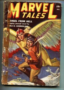 Marvel Tales #6 12/1939-Timely-weird menace pulp-1st issue-RARE