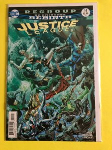 DC REBIRTH  JUSTICE JEAUGE #14   2017  DC  /  DIRECT SALES  / UNREAD / NM / +