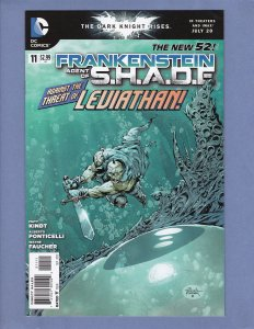 Frankenstein Agent of Shade #11 VF DC 2012