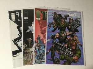 Team 7 1-4 Dead Reckoning 1-4 Objective: Hell 1-3 Lot Very Fine-Near Mint Image