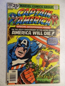 CAPTAIN AMERICA # 200 MARVEL KIRBY FALCON WAR ADVENTURE BICENTENNIAL
