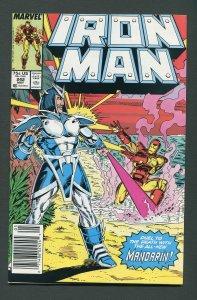 Iron Man #242  / 9.2 NM-  Newsstand  May 1989