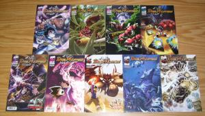 Duel Masters #1-8 VF/NM complete series + variant - based on WOTC CCG comics set