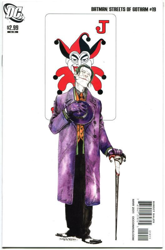 BATMAN STREETS of GOTHAM #19, VF/NM, 2011, Joker, more Batman in store