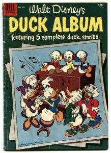 Four Color Comics #611 1955- Walt Disney's Duck Album G/VG