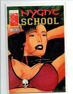 Nyght School #1 - sexy vampire girl - Brainstorm - Near Mint