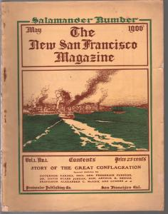 New San Francisco Magazine #1 5/1906-1st issue-San Francisco Earthquake-VG