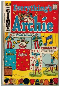 EVERYTHINGS ARCHIE (1969-1991) 13 VG+ April 1971 GIANT